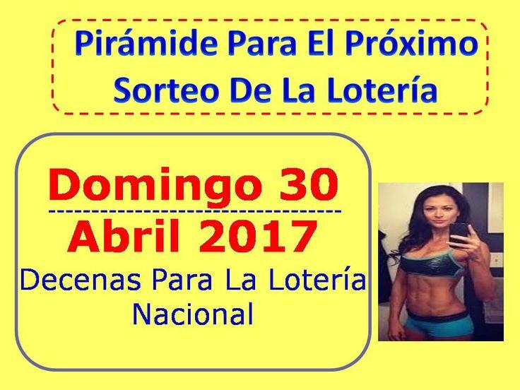► https://www.youtube.com/watch?v=a2U_wYg7pTs ◄ Piramide de la Suerte Decenas Sorteo Domingo 30 Abril 2017 Loteria Nacional : Loteria 30 Abril 2017