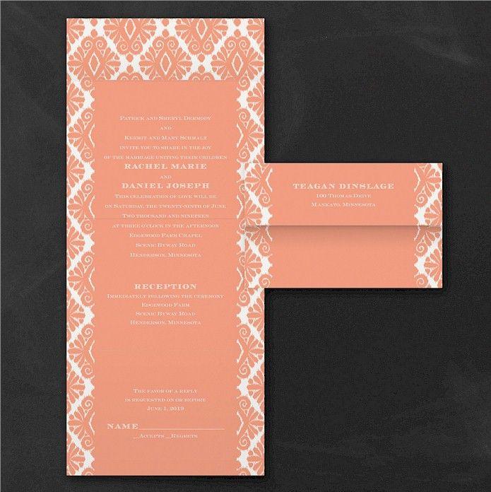 55 best Seal n Send Wedding Invitations images on Pinterest