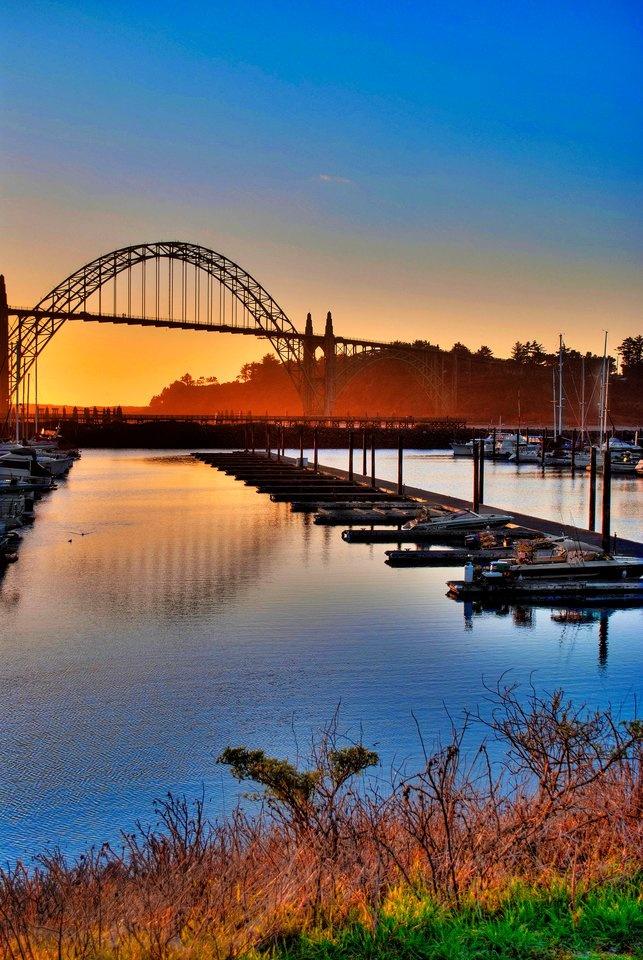 Yaquina Bay Bridge Newport Oregon 127