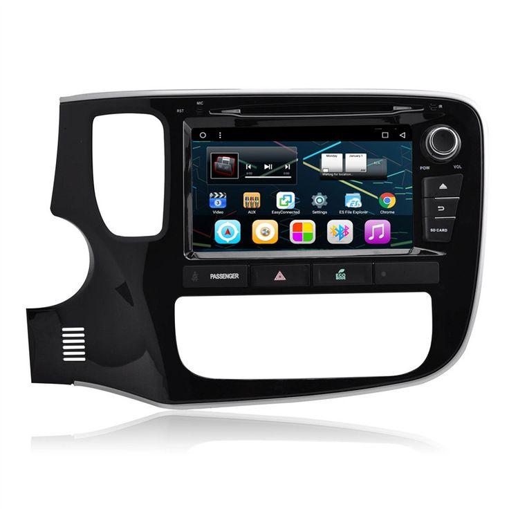 "8"" Android Car Stereo Multimedia GPS Navigation DVD Radio Audio Head Unit Mitsubishi Outlander 2013 2014 2015 2016"
