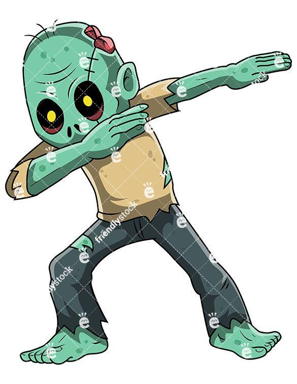 Zombie Cartoon Clip Art