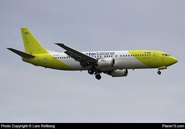 EI-ELZ - Mistral Air - Boeing 737-4Q8 - Picture at Plane13.com