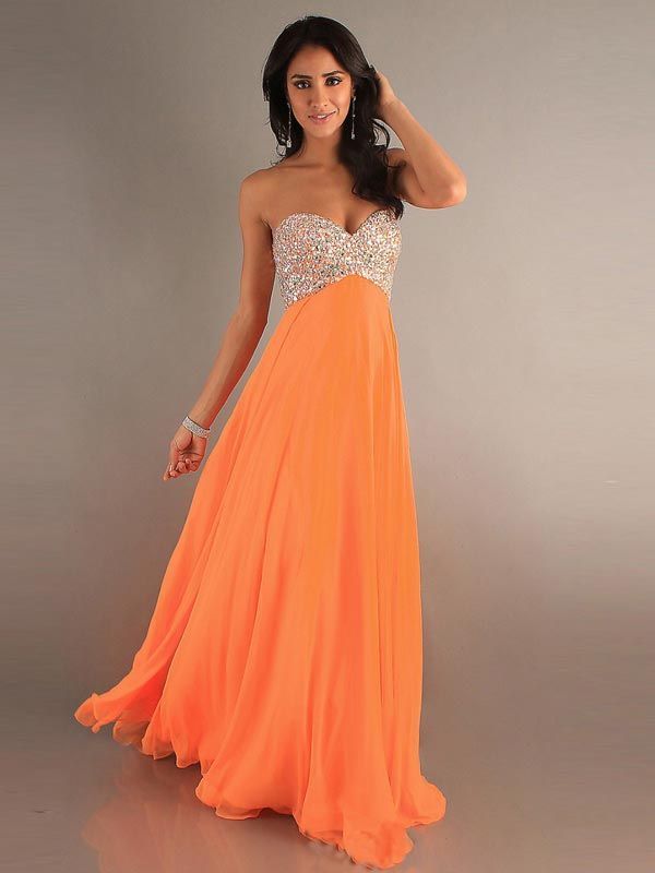 2014 New Style A-line Sweetheart Sleeveless Floor-length Chiffon Prom Dress/Evening Dresses #FC007