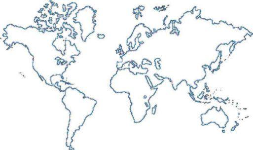 25 melhores ideias de mural do mapa mundi no pinterest - Mural mapa mundi ...