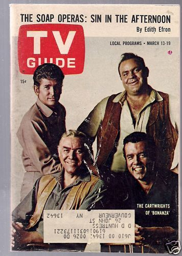 classic TV Guide | TV Guide-March 13-19, 1965 - Sitcoms Online Photo Galleries