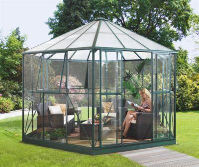 das vitavia gew chshaus der linie hera ist ein klassischer 6 eckiger gew chshaus pavillon mit. Black Bedroom Furniture Sets. Home Design Ideas