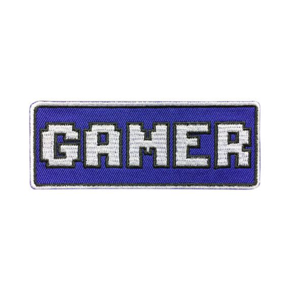Gamer Patch Embroidered Iron on Patch individuality Movie Patches