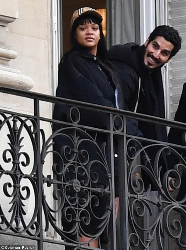 Je taime! Rihanna and billionaire boyfriend Hassan Jameel were spotted while away on a romantic vacation in Paris Saturday