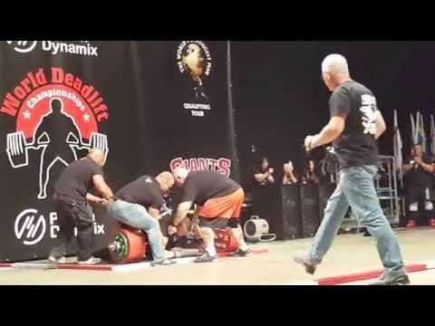 Eddie Hall Becomes the First Man in History to Deadlift 500kg | Enter The Pit Bodybuilding Blog