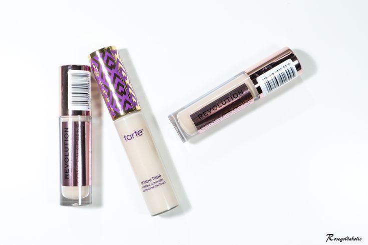 Dupe for Tarte Shape Tape: Makeup Revolution Conceal & Define Concealer