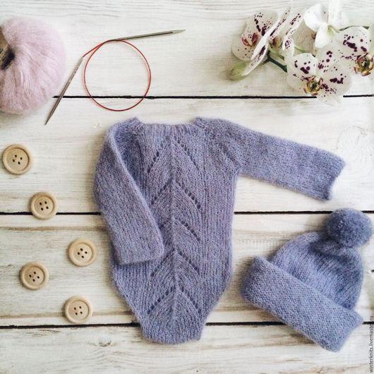Newborn clothes set / Для новорожденных, ручной работы. Ярмарка Мастеров - ручная работа. Купить Комплект