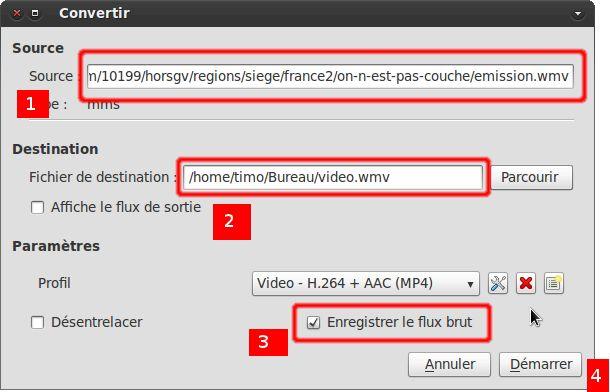 capturer une vidéo avec VLC