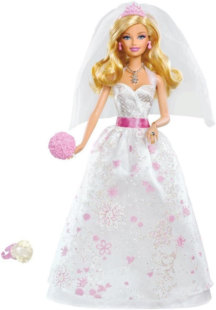 New Mattel Barbie Doll 2017 Royal Bride Blonde