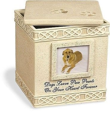 New Pet Urn Ashes 6 Inch for Dog Family Pet Cermation Containing Memories Pet - http://pets.goshoppins.com/pet-memorials-urns/new-pet-urn-ashes-6-inch-for-dog-family-pet-cermation-containing-memories-pet/