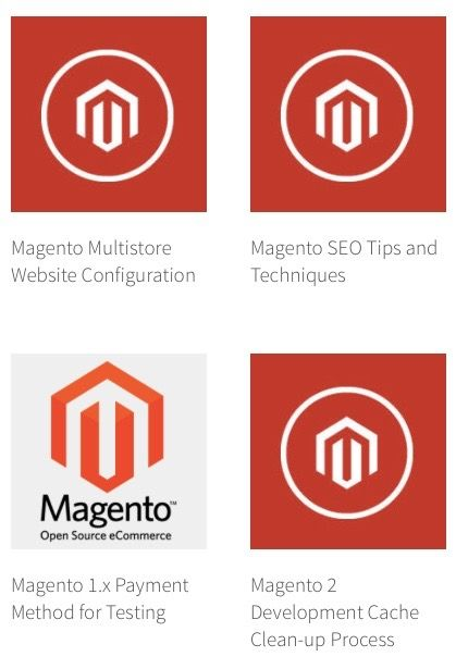 Archive of content marketing blog post promoting Magento Development expertise