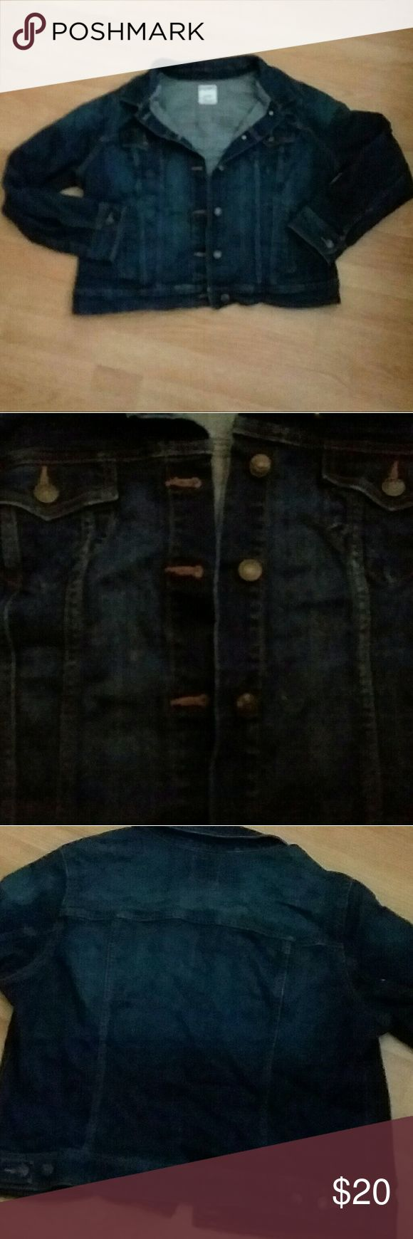 Woman's size XL Old Navy jean jacket . Old Navy . Woman's size XL . Jean Jacket . Denim Old Navy Jackets & Coats Jean Jackets