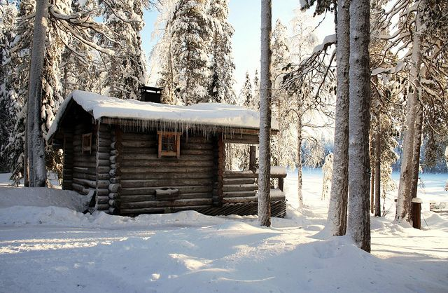 Traditional Finnish sauna by Nordic Visitor, via Flickr