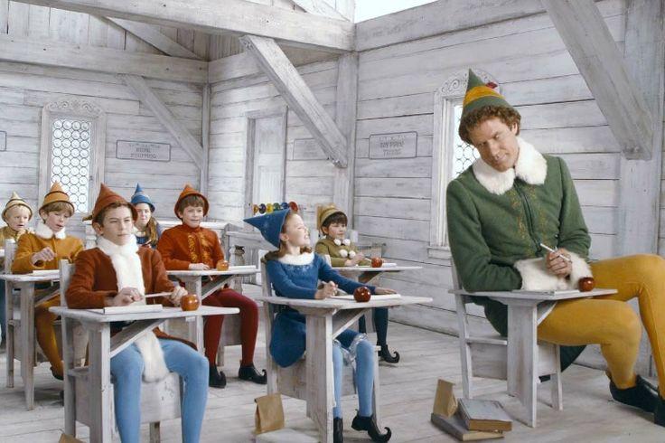 De mens die denkt dat hij het hulpje van de kerstman is in Elf (2003)