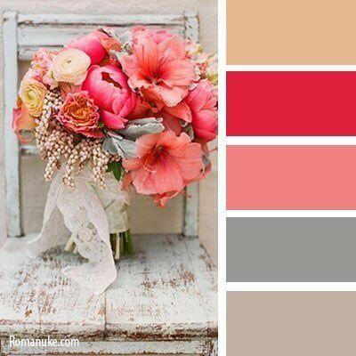Bloemen hebben geweldige pastel tinten afgewisseld met harde kleuren