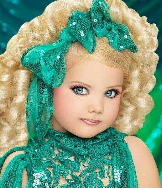Toddlers and Tiaras Eden Wood.
