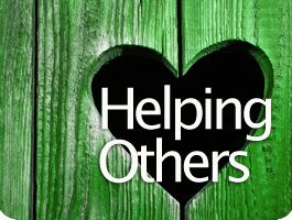 Being there for others!