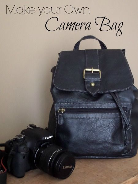 Turn your favorite purse into a camera bag.