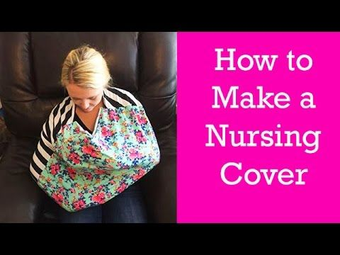 Best DIY tutorial I've seen on how to make a nursing cover similar to Covered Goods.