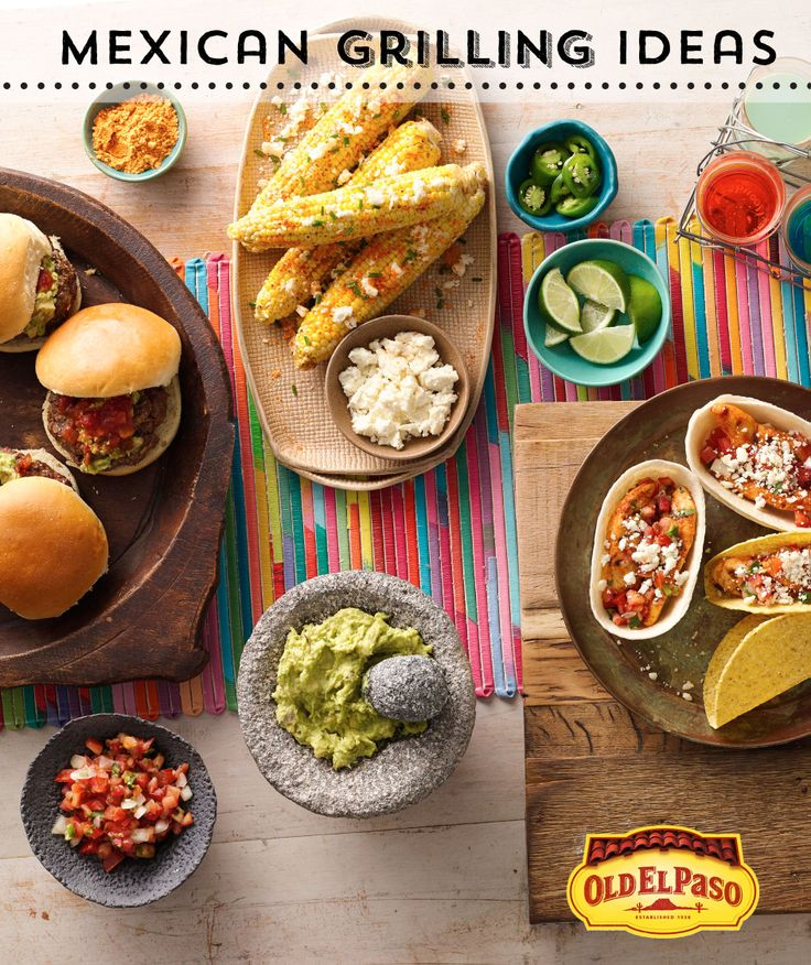 Mexican Grilling Ideas from Old El Paso to spice up backyard get-togethers
