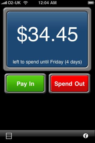 Very simple way to budget your money with a simple interface on a weekly or monthly basis!
