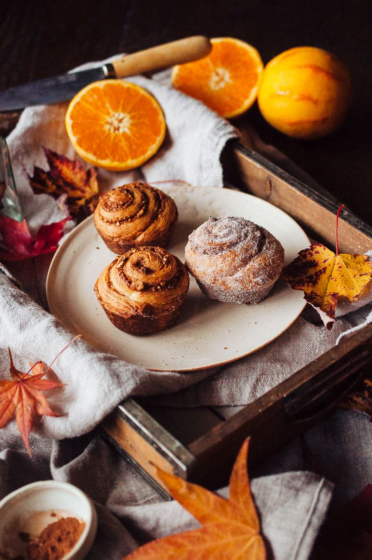 Cinnamon, Orange, And Hazelnut Morning Buns