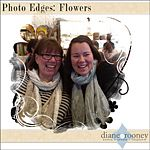 Flowers Photo Edges By Diane Rooney