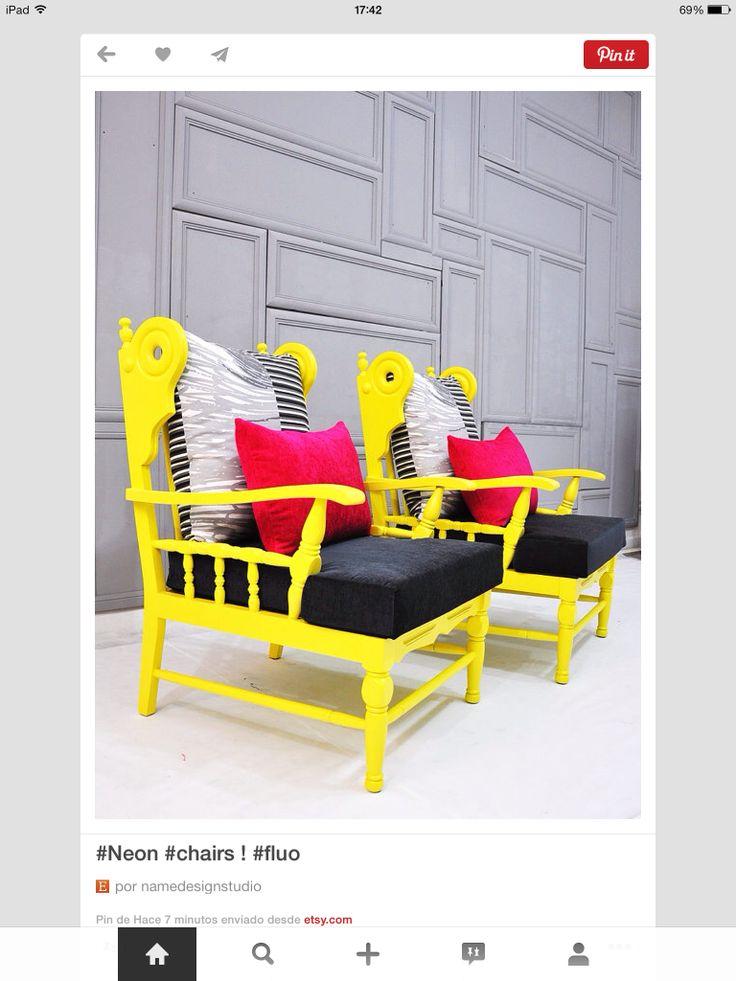 Sillones amarillos