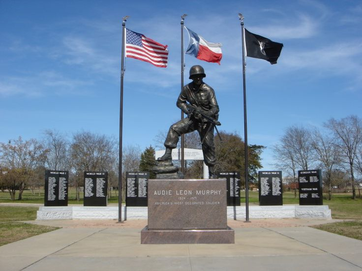 Maritimequest audie murphy hunt county war memorial