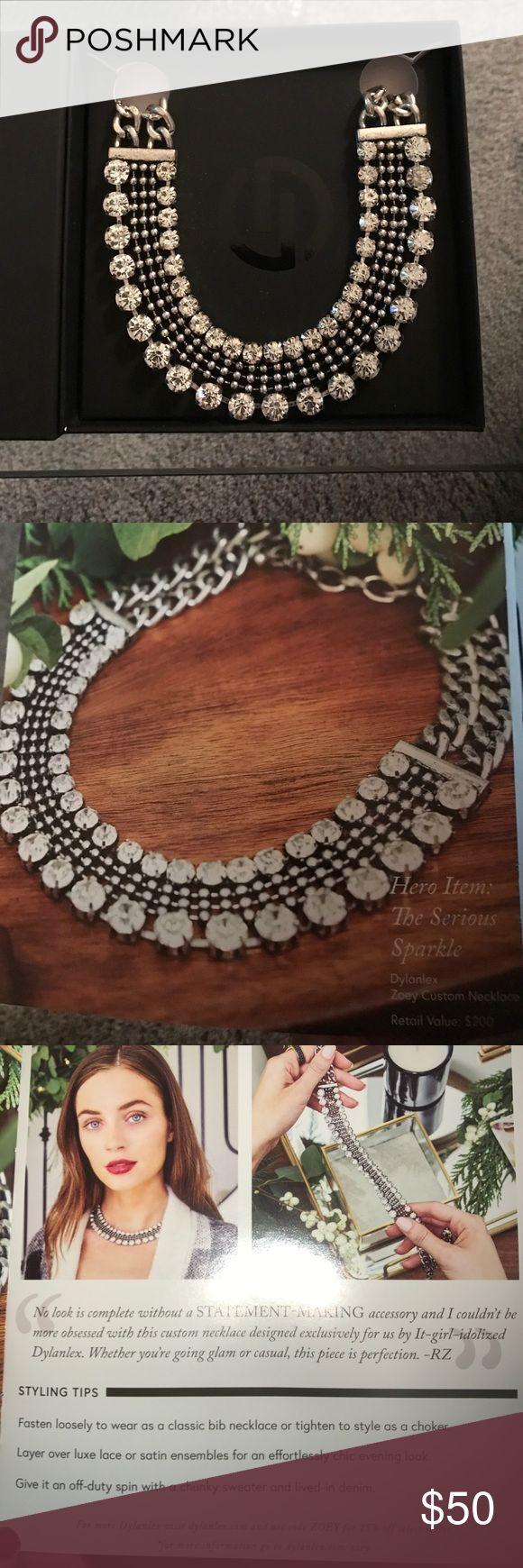 Statement necklace Rachael Zoe box of style by Dylanex. New. Unused in box Rachel Zoe Jewelry Necklaces
