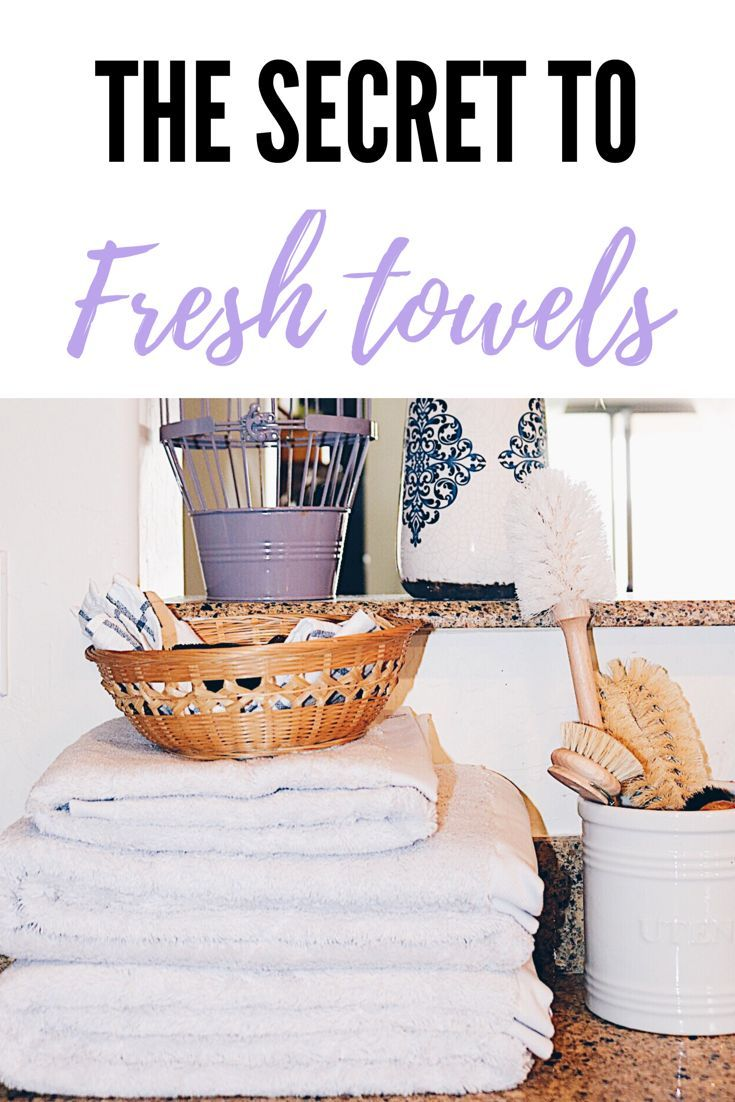 Want the secret to spanking fresh towels? Are you tired on smelly towels? Use these 3 simple ingredients to get your towels smelling brand new! No more spending money on new towels!