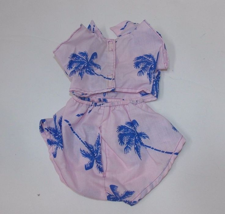 Vintage Tonka Pound Purries Outfits Party Playset Pink Blue Hawaiian 1986 #7841 #Tonka