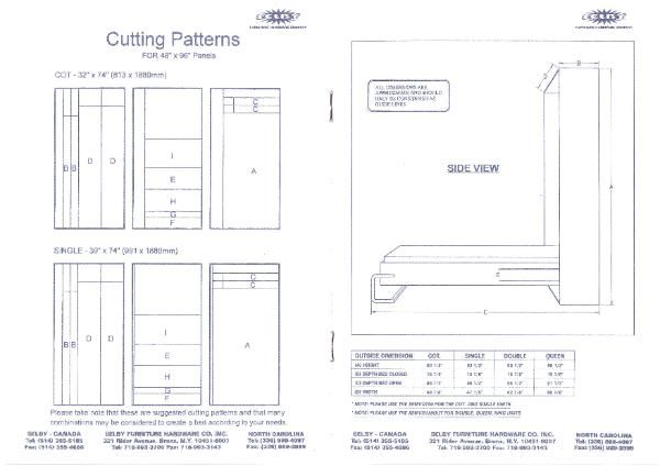 How To Build A Murphy Bed Free Plans Woodworking