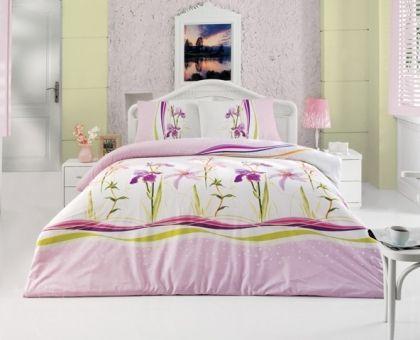 Купить постельное белье ALTINBASAK ASU розовое 70х70 1,5-сп от производителя Altinbasak (Турция)