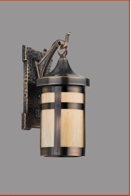 High Quality Exterior Light  Rejuvenationu0027s Arts And Crafts Amity Exterior Fixture Is 12  In. Tall X