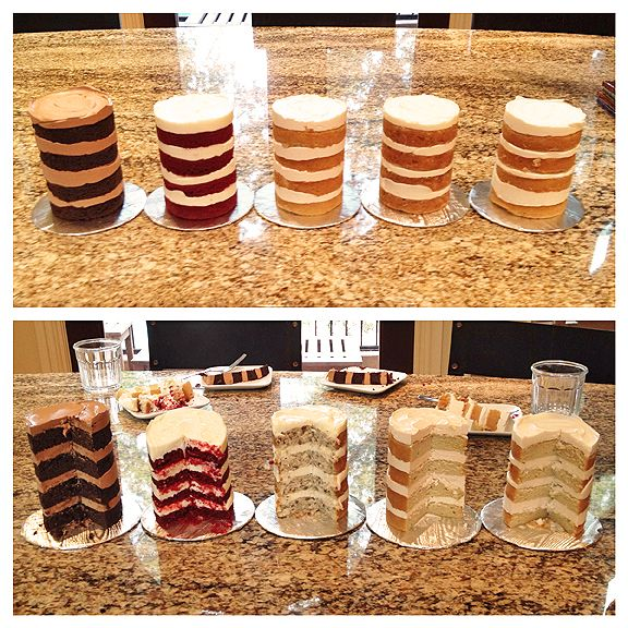 cake tasting ideas - Google Search