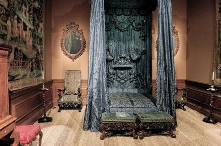 Bedroom Impressive Gothic Bedroom Designs With Luxurious Grey Metalic Bed And Curtains Also