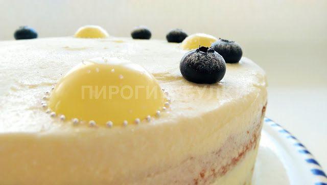 "ПИРОГИ & БУЛКИ: Торт ""Белое безмолвие"" / от 2,400 рублей"