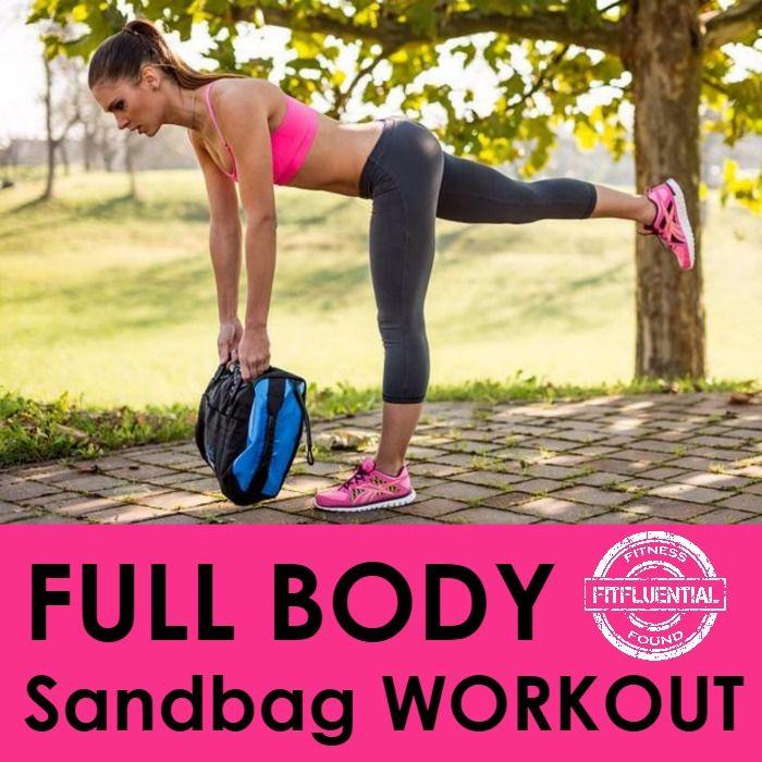 Full Body Sandbag Workout