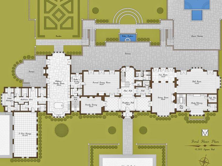 Plans for estate homes