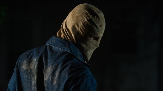 """The Town That Dreaded Sundown (2014) - Inspired by the original 1976 movie The Town That Dreaded Sundown and the real """"moonlight murders"""" in 1946, this splatter movie is about a masked serial killer who seems to find pleasure in murdering couples during their moments of intimacy."""