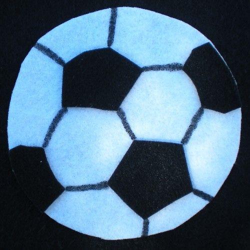 Felt Soccer Banner - MISCELLANEOUS TOPICS