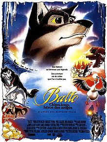 balto movie - Google Search Modern animated film version of a canine melodrama. Balto overcomes all obstacles of evil and saves the little girl and the whole town by bringing the medicine. Melodramas are directly influenced by the idea of good always prevailing over evil