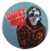 Quiet Riot - 'Metal Health Grey' Prismatic Button Badge