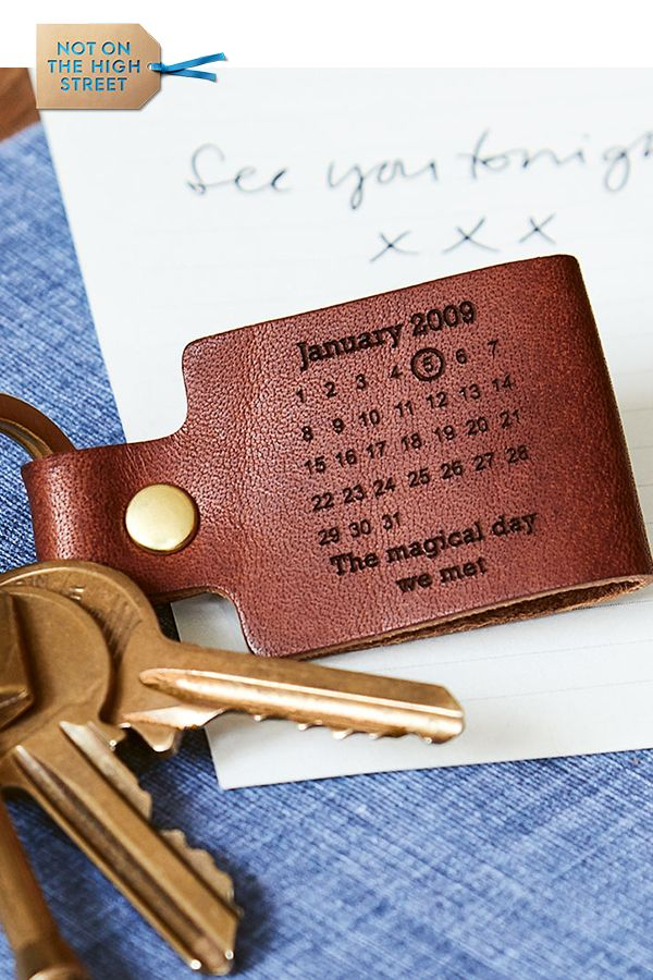 Personalised Leather  Day You Became My…  Keyring  75c4955c1