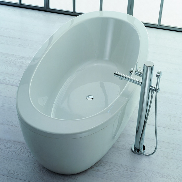 Il Bagno Alessi One Freestanding Bath and Panel